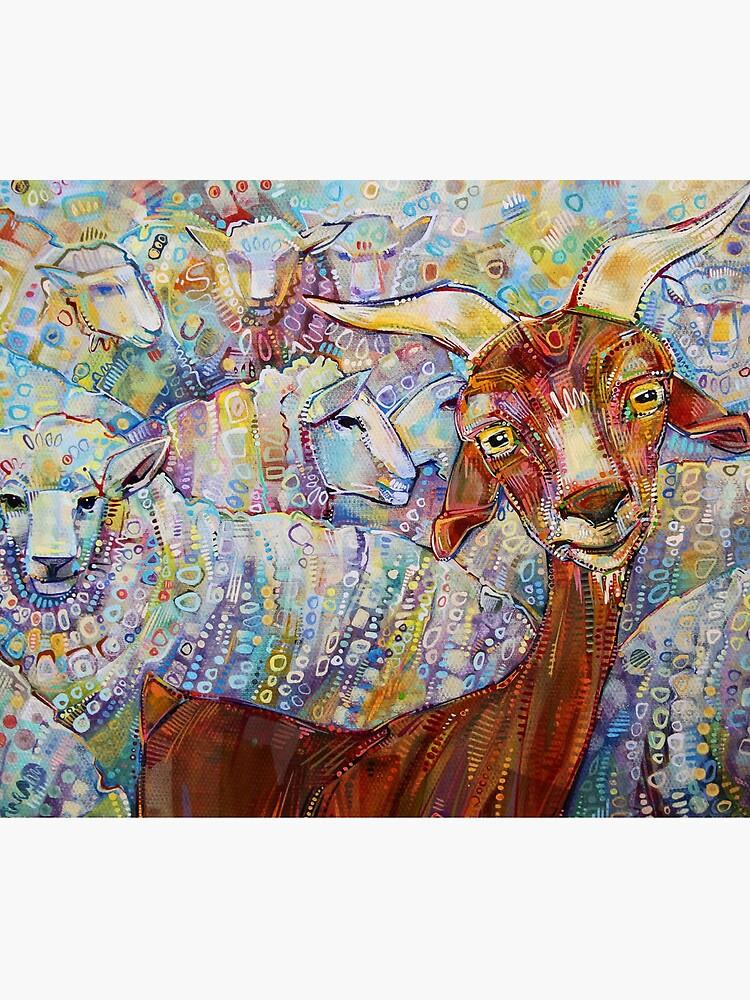 Ziegen- / Schafmalerei - 2014 von gwennpaints