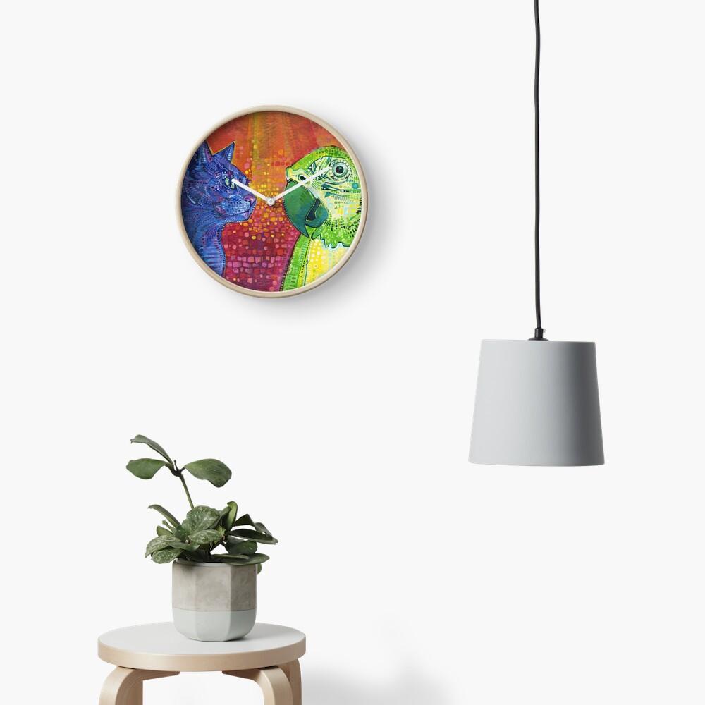 Making Language #2 Painting - 2014 Clock