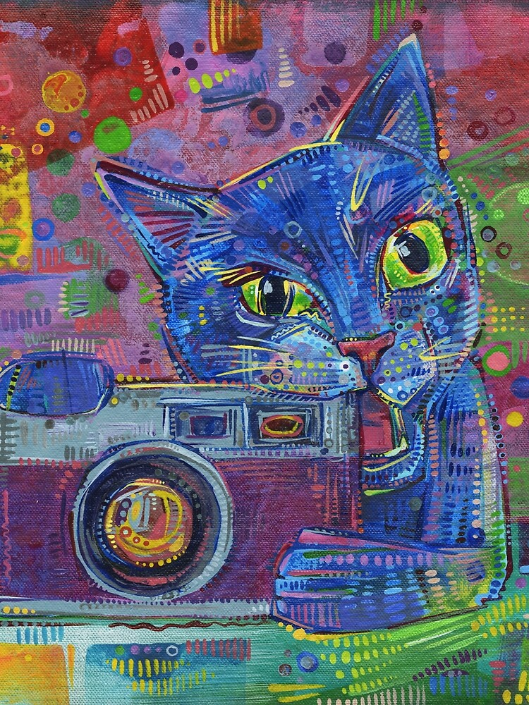 Copycat painting - 2014 by gwennpaints