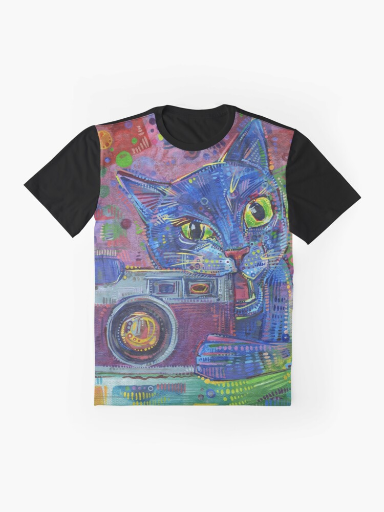 Alternate view of Copycat painting - 2014 Graphic T-Shirt
