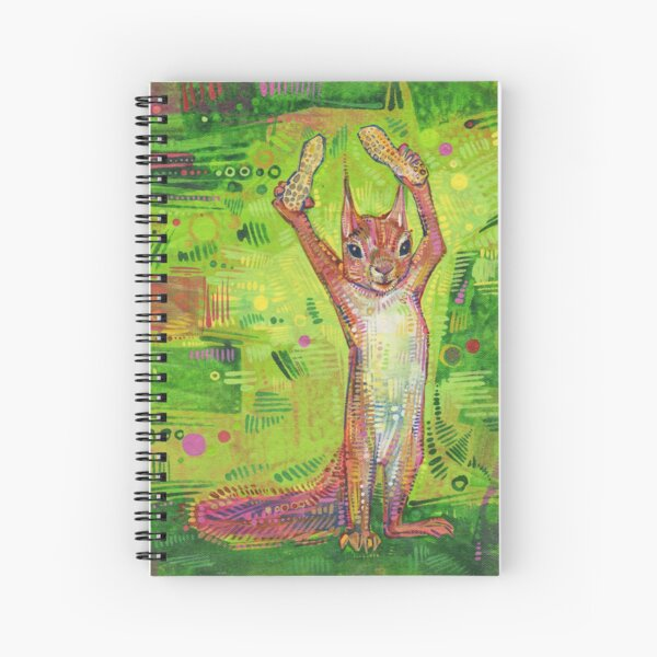 Nuts Painting - 2014 Spiral Notebook