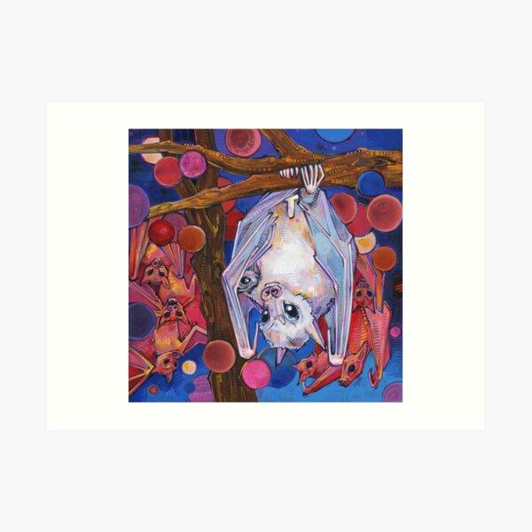 Dayak Fruit Bats Painting - 2012 Art Print