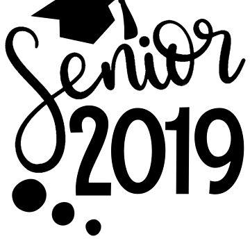 Class of 2019 senior graduation gift  by tiffanator606
