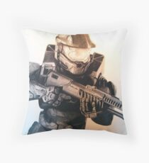 Master Chief- Halo Throw Pillow