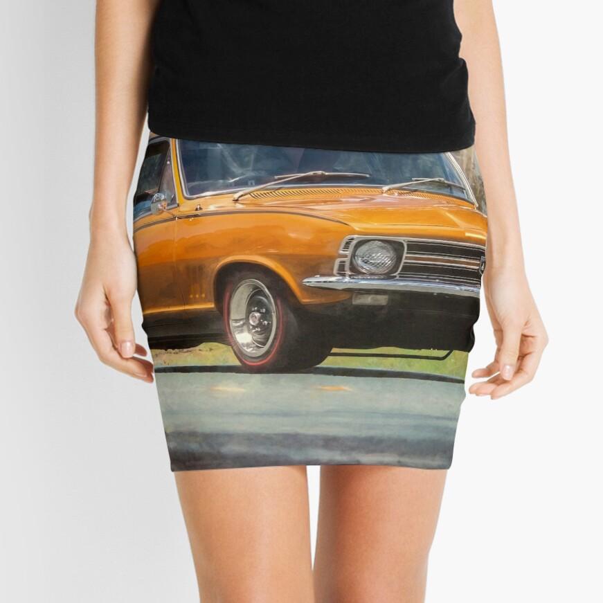 Bronze LC Holden Torana GTR XU-1 Mini Skirt