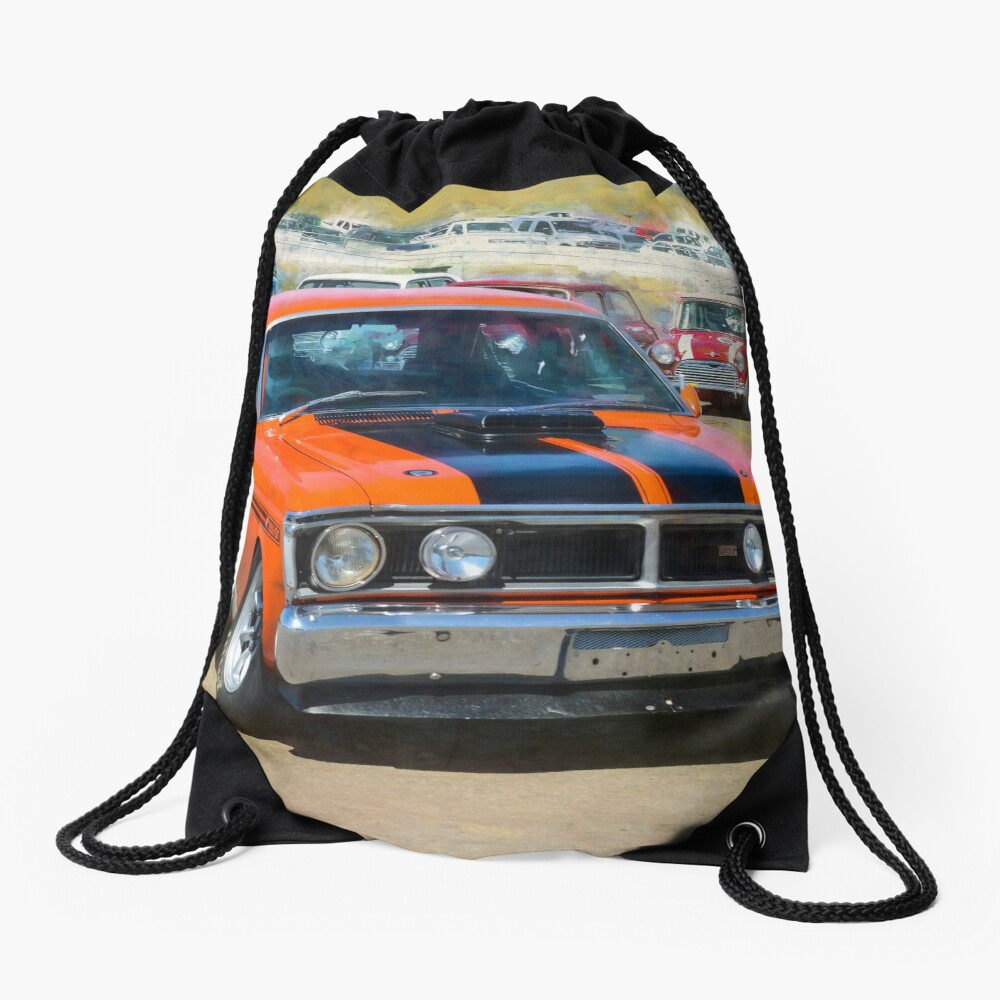 Red XY Ford Falcon 351GT Drawstring Bag