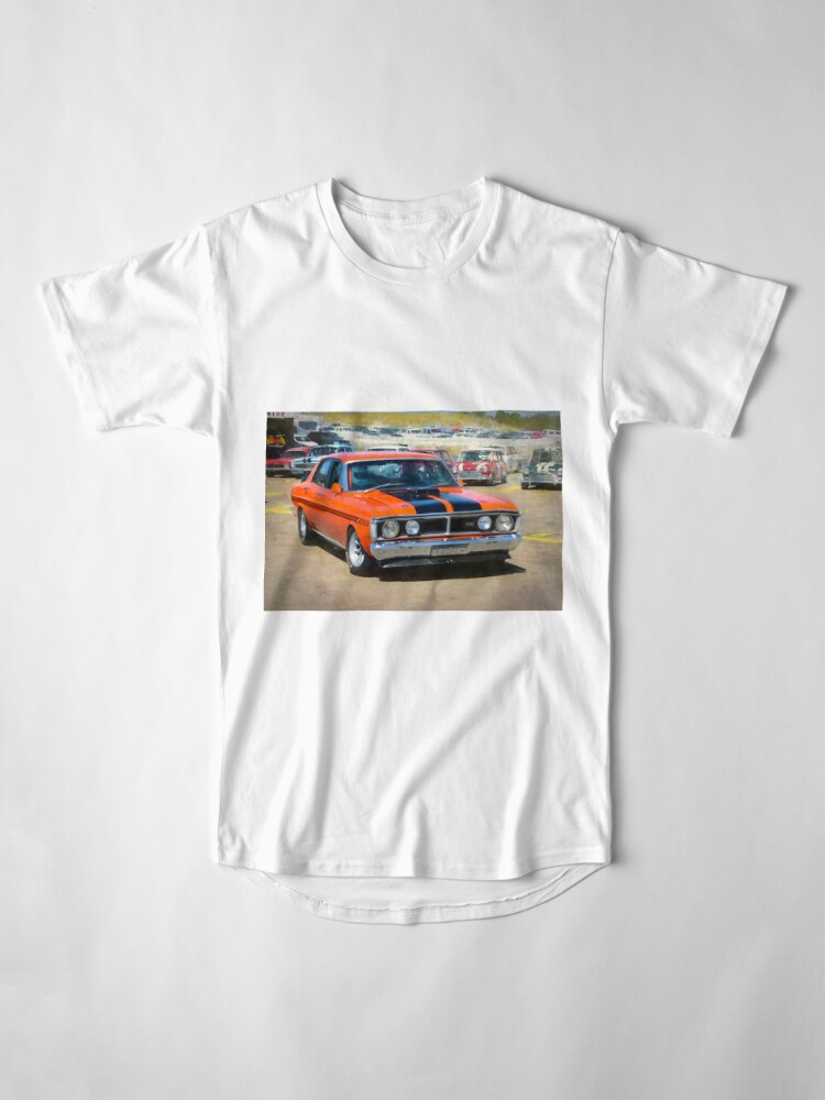 Alternate view of Red XY Ford Falcon 351GT Long T-Shirt
