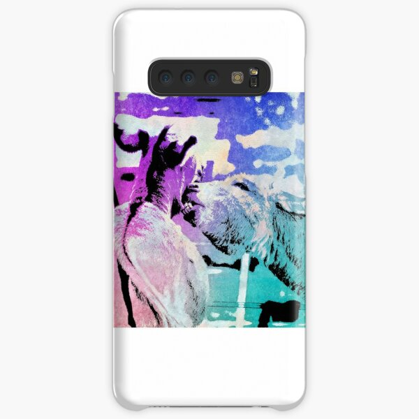 Donkey bites in watercolor Samsung Galaxy Snap Case