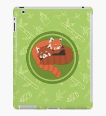 Rote Pandas iPad-Hülle & Klebefolie