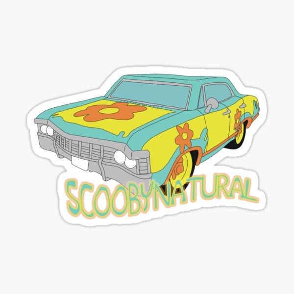 Scoobynatural w/ text Sticker