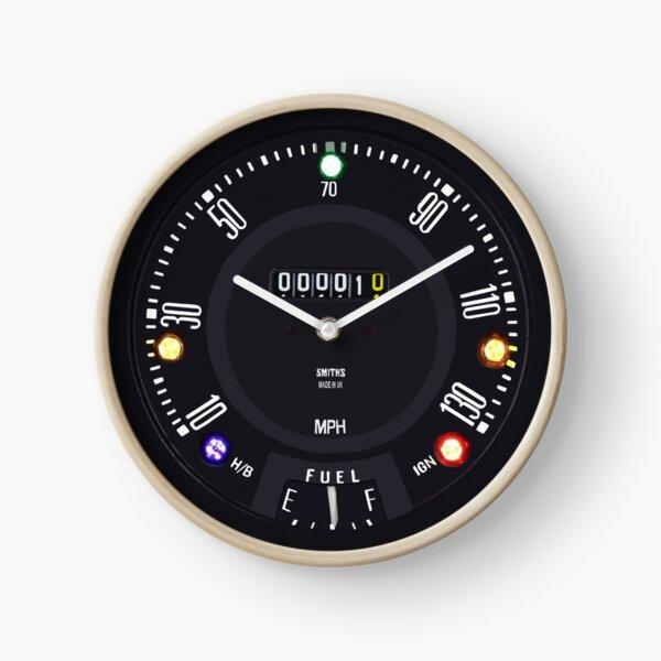 Classic Mini Cooper S Clock Clock