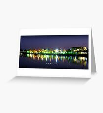 Lights of Innisfail, Nth Queensland Greeting Card