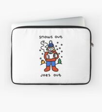 Snows Out Joes Out Laptop Sleeve