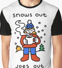 Snows Out Joes Out Graphic T-Shirt