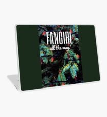 Fangirl All the Way! Laptop Skin