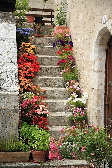 Pretty Steps, France by PaulineC