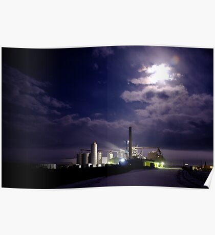 Feed Mill By Full Moon Poster