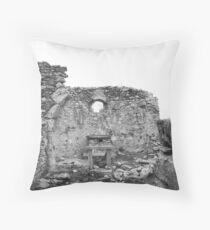 Swiss Chapel - Graubünden, Switzerland Throw Pillow