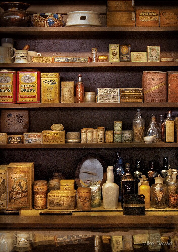 Pharmacy - Quick, I need a miracle cure by Mike  Savad