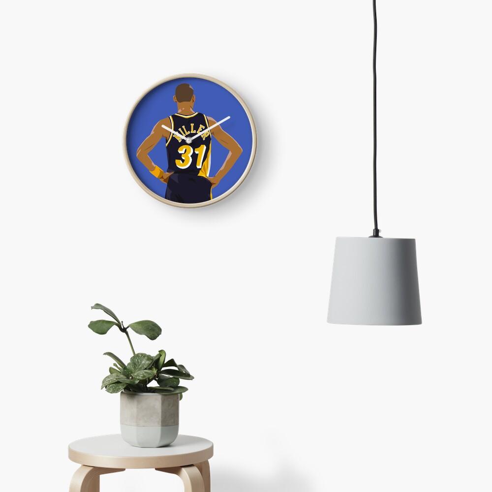 Reggie Miller Back-To Clock