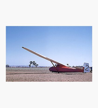Glider, Grunau Baby 2, Gawler, South Australia. 1960. Photographic Print