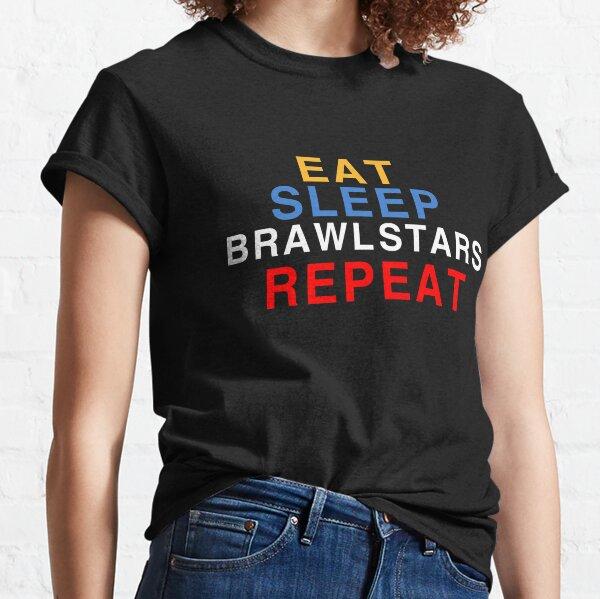 Manger, dormir, bagarre étoiles, répéter T-shirt classique