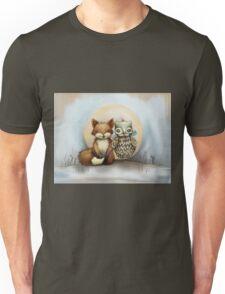 fox and owl Unisex T-Shirt