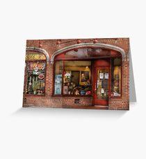 Westfield, NJ - Tutti Baci Cafe Greeting Card