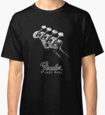 Fender Jazz Bass-Headstock-60er-Musik-Jazz Classic T-Shirt