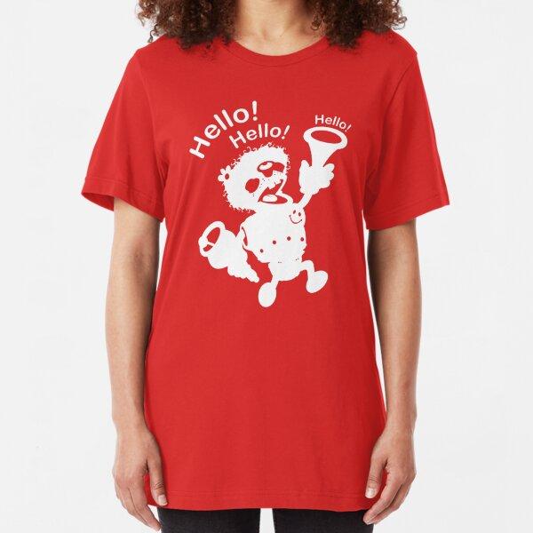 Taunting Bot Slim Fit T-Shirt
