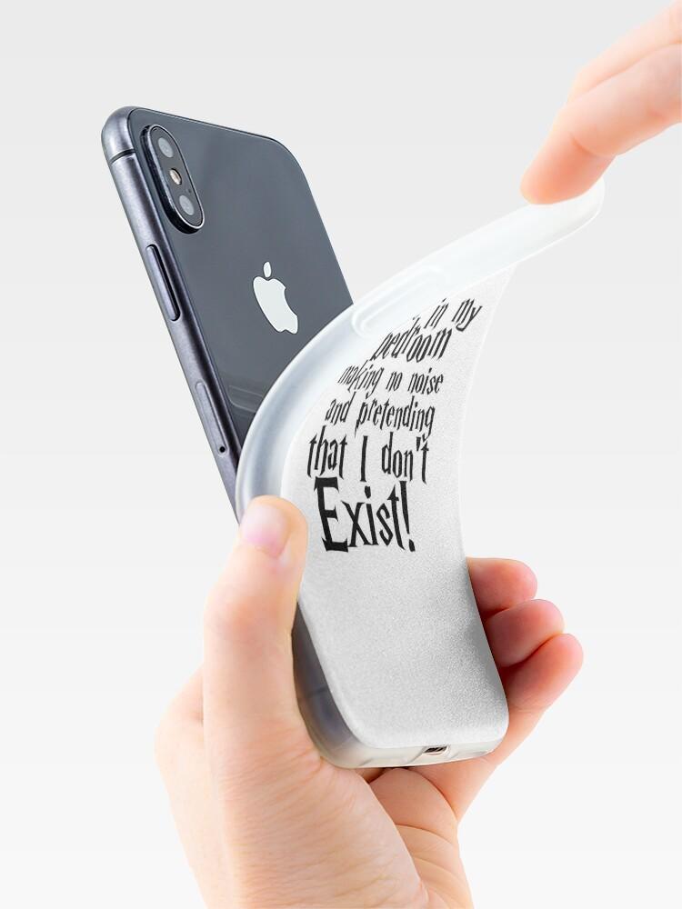 Vista alternativa de Funda y vinilo para iPhone Habitación