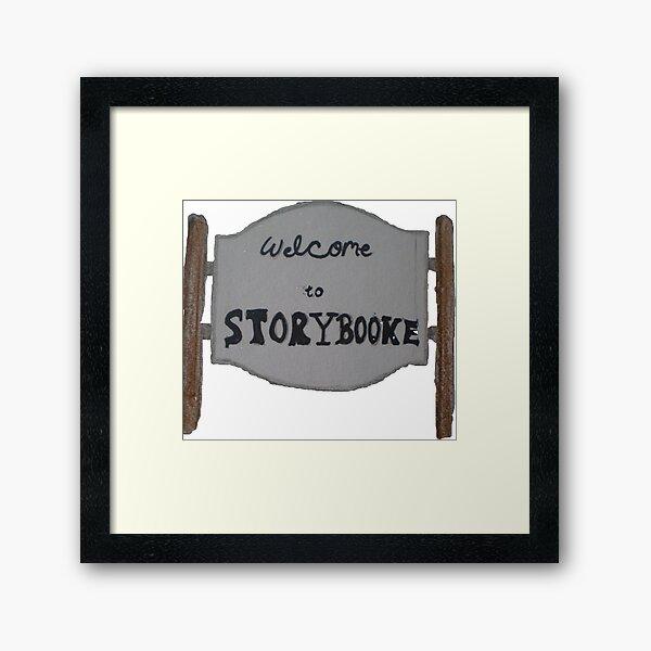 Storybrooke Framed Prints | Redbubble
