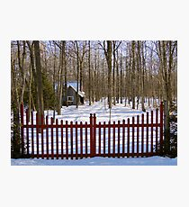 Gated Community Photographic Print