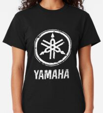 Yamaha Drums-Classical Logo eroded-Grunge-Rock,Pop,Jazz,Metal,Blues-Music Classic T-Shirt
