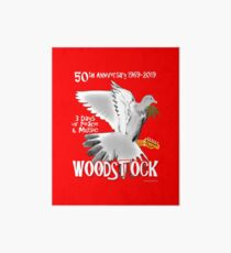 Woodstock 50th Anniversary Art Board