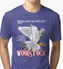 Woodstock 50th Anniversary Tri-blend T-Shirt