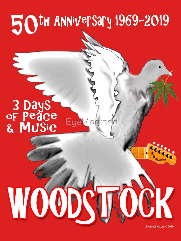 Woodstock 50th Anniversary by EyeMagined