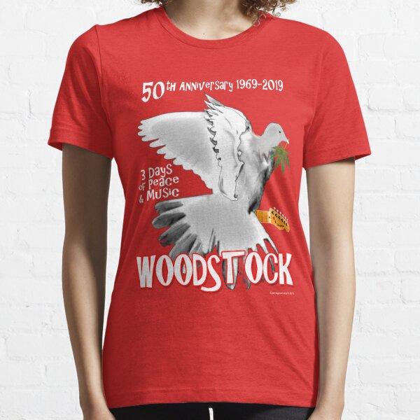 50 Jahre Woodstock Essential T-Shirt