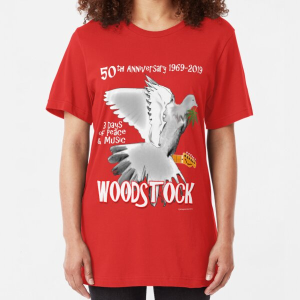 Woodstock 50th Anniversary Slim Fit T-Shirt