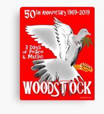 Woodstock 50th Anniversary Canvas Print