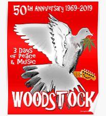 Woodstock 50th Anniversary Poster