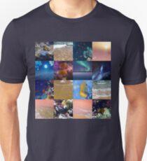 Sealife And SeaShore Collage by Hurmerinta Unisex T-Shirt