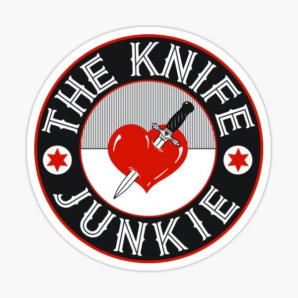 The Knife Junkie Sticker