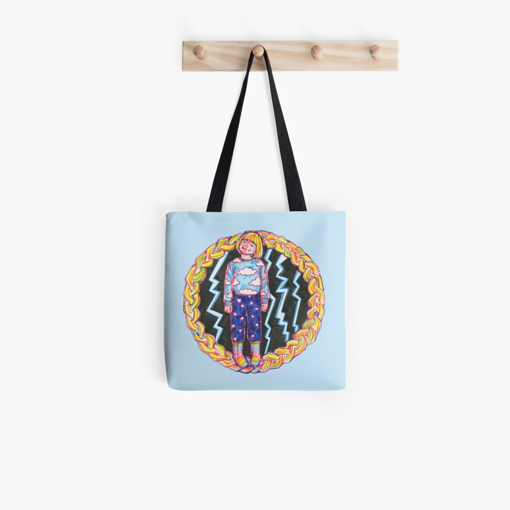Self-portrait as a Child Drawing - 2017 Tote Bag