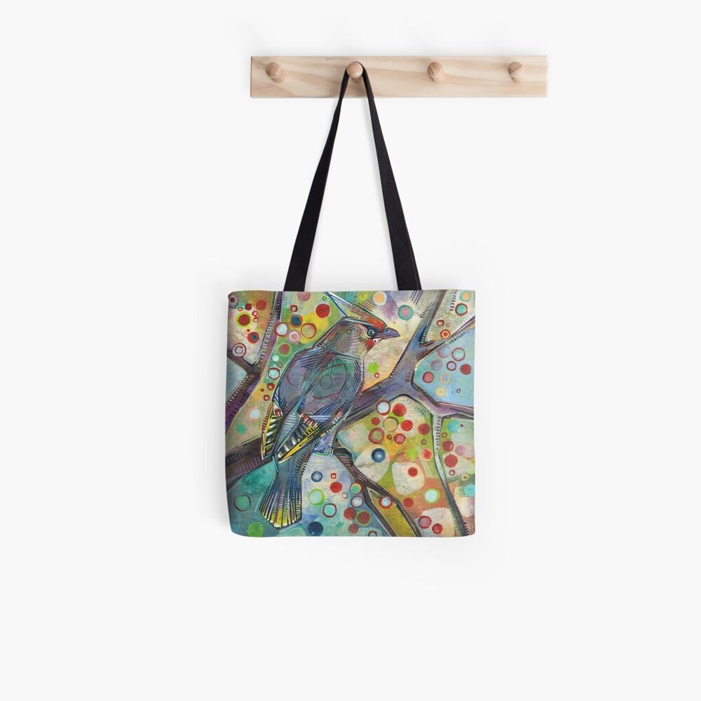 Bohemian Waxwing Painting - 2015 Tote Bag