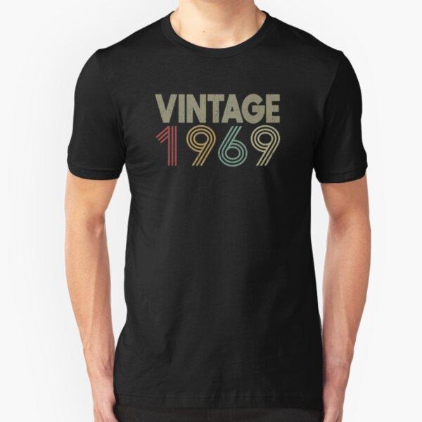 51st Birthday - Vintage 1969  Slim Fit T-Shirt