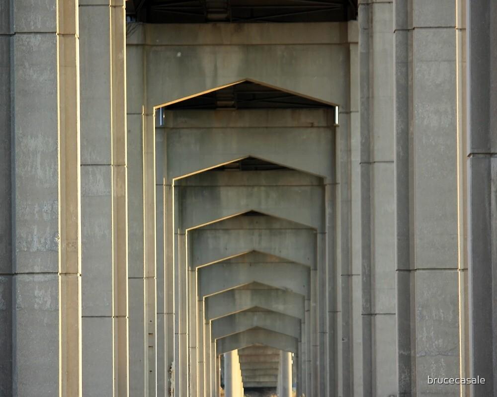 Under the Reedy Point Bridge by brucecasale
