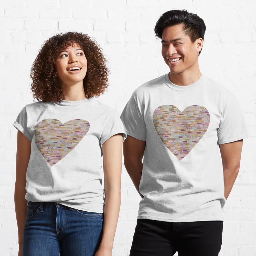 Stone Wall Heart (Digital Art) Classic T-Shirt