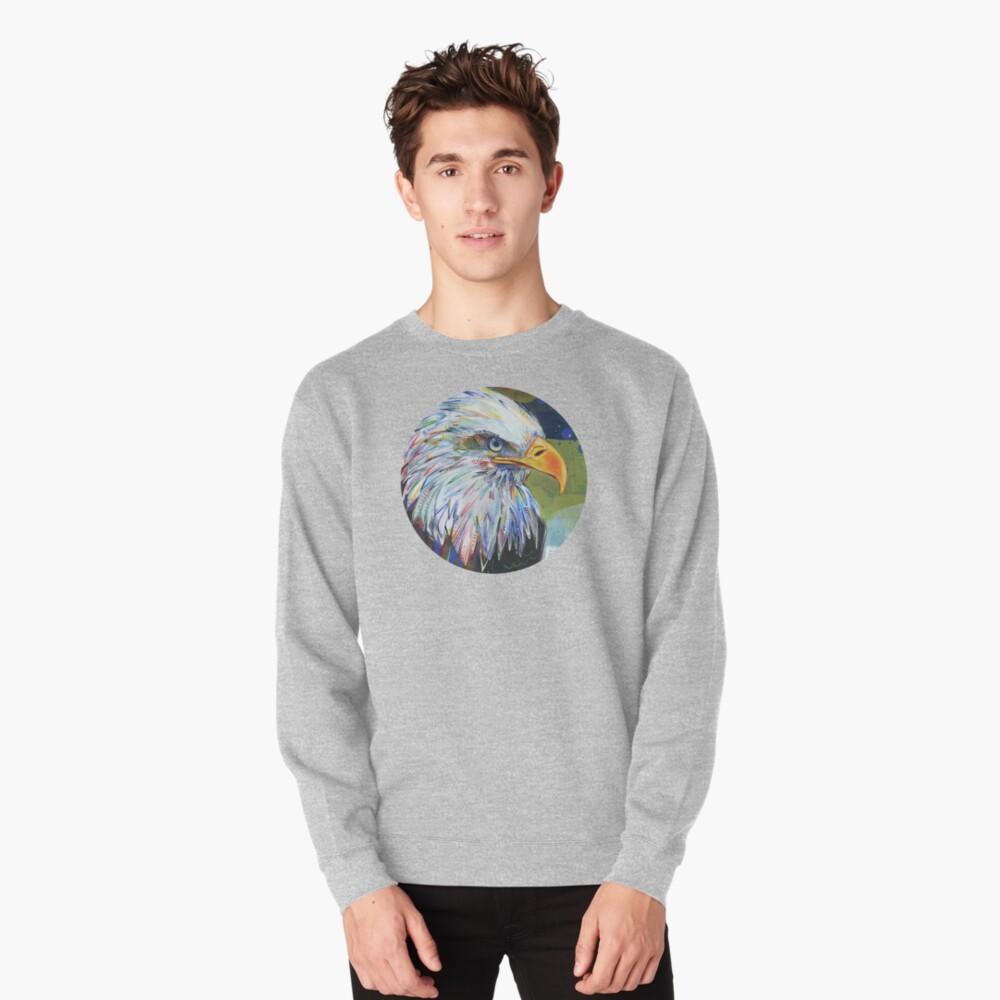 Bald Eagle Painting - 2012 Pullover Sweatshirt