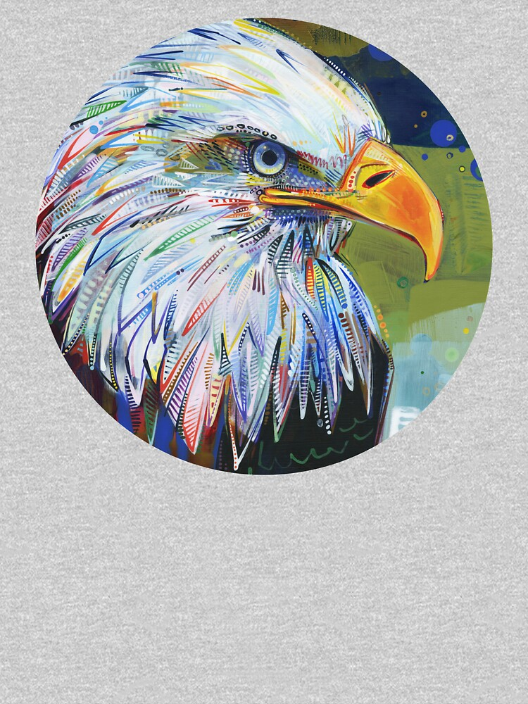 Bald Eagle Painting - 2012 by gwennpaints